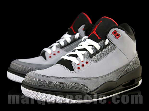 """sale retailer 709c1 ee66d 2011 is clearly an Air Jordan 3 year, with all sorts of colorways slated to  drop from January through the holiday season. The White Cement and """"Black  ..."""